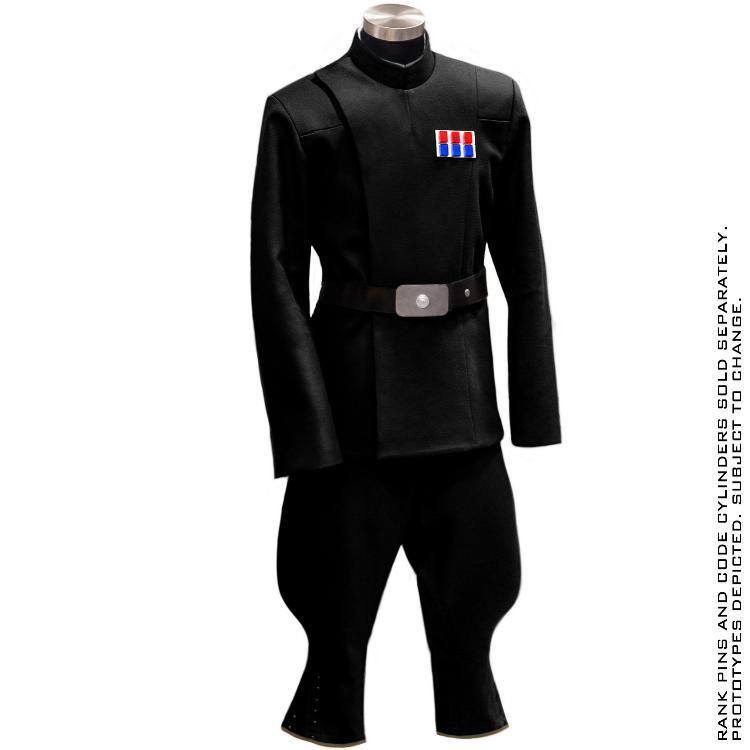 ANOVOS STAR WARS - Imperial Officer - Black Uniform Package Impoff25