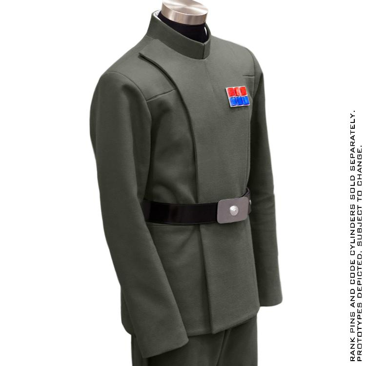 ANOVOS STAR WARS - Imperial Officer - Olive Uniform Package  Impoff35