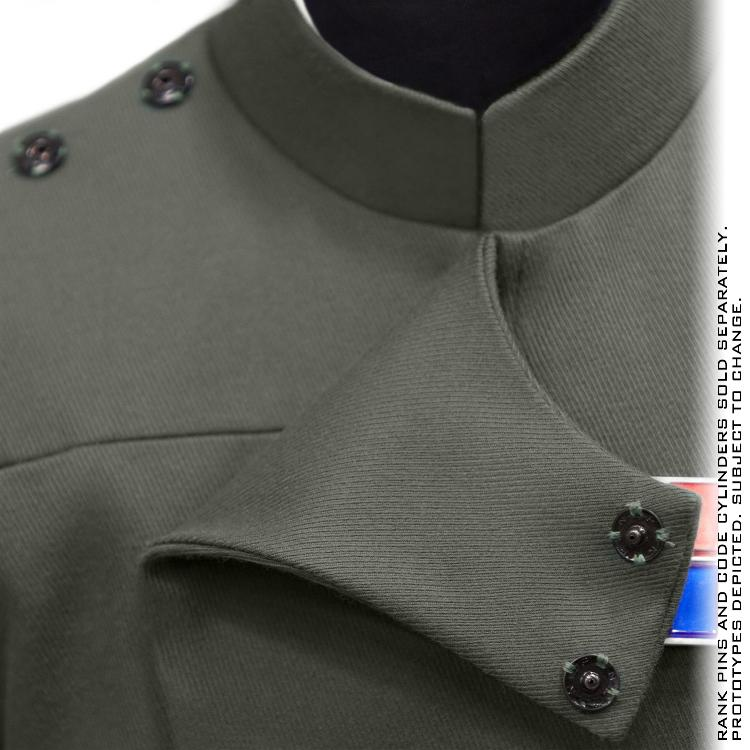ANOVOS STAR WARS - Imperial Officer - Olive Uniform Package  Impoff36