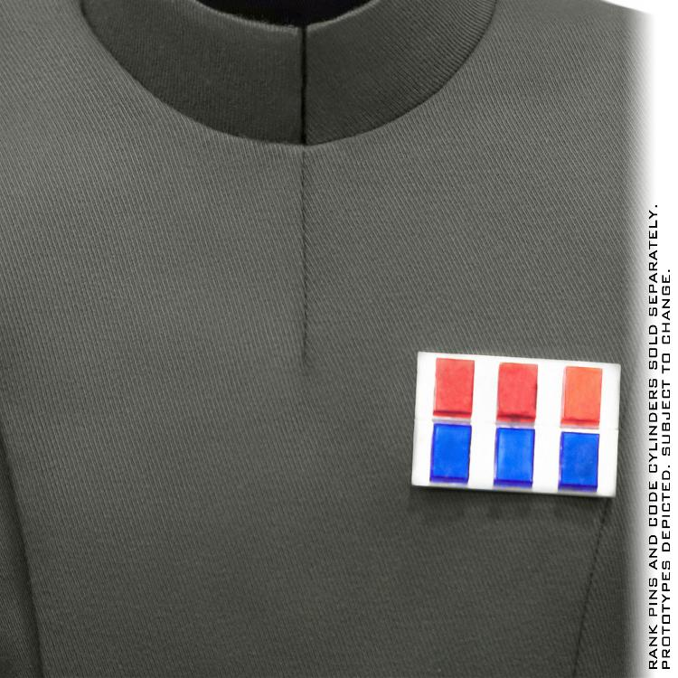 ANOVOS STAR WARS - Imperial Officer - Olive Uniform Package  Impoff37