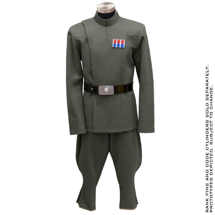 ANOVOS STAR WARS - Imperial Officer - Olive Uniform Package  Impoff38