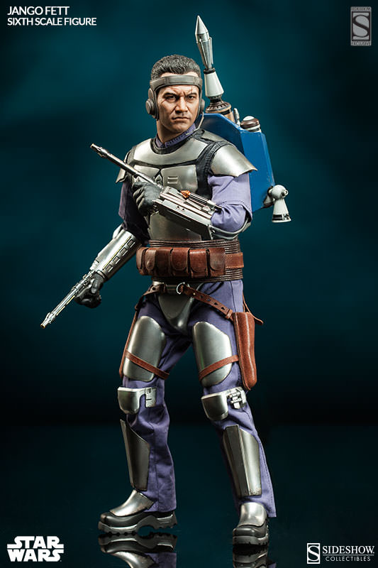 Sideshow Collectibles - Jango Fett Sixth Scale Figure Jangof11