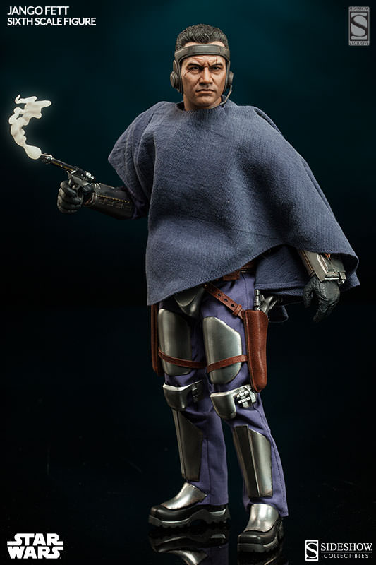 Sideshow Collectibles - Jango Fett Sixth Scale Figure Jangof12