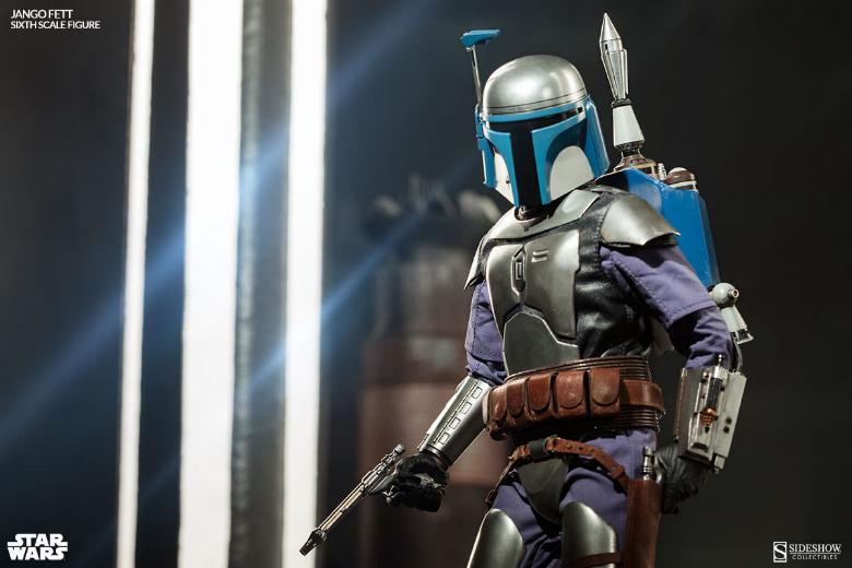 Sideshow Collectibles - Jango Fett Sixth Scale Figure Jangof14