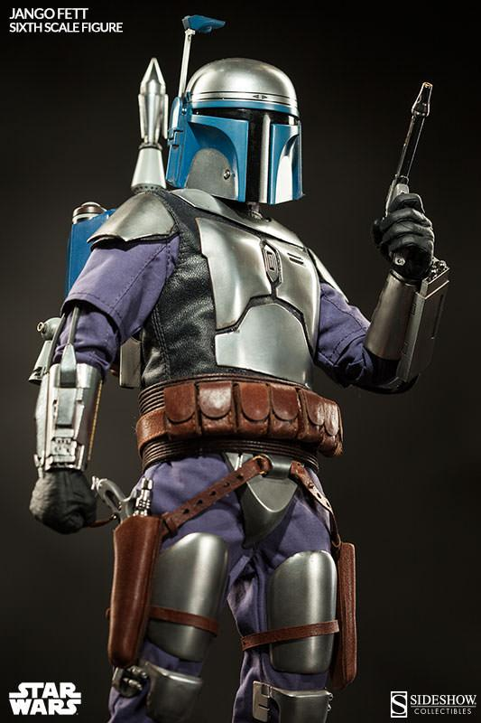 Sideshow Collectibles - Jango Fett Sixth Scale Figure Jangof15