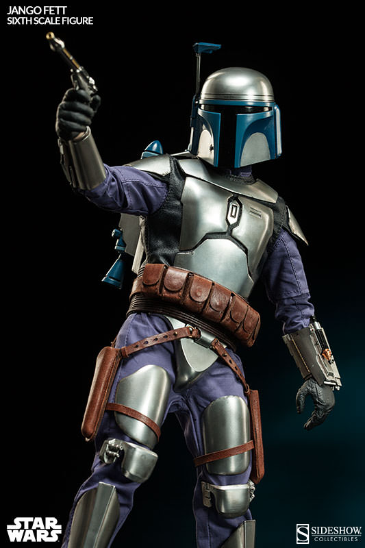 Sideshow Collectibles - Jango Fett Sixth Scale Figure Jangof16