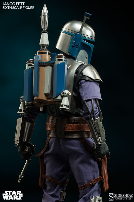 Sideshow Collectibles - Jango Fett Sixth Scale Figure Jangof17