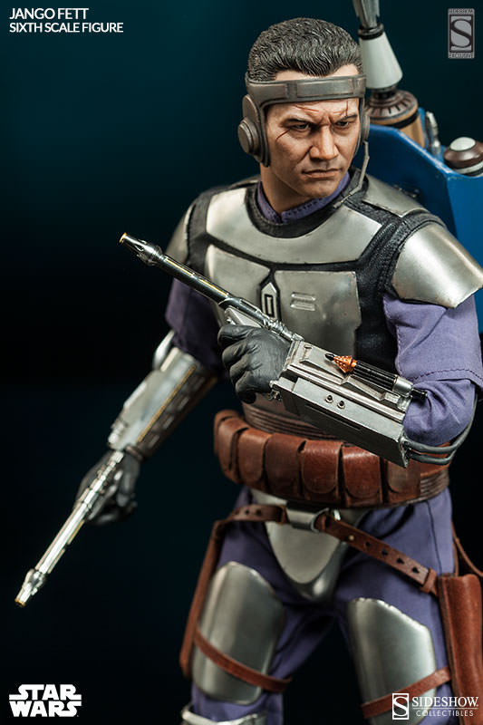 Sideshow Collectibles - Jango Fett Sixth Scale Figure Jangof18