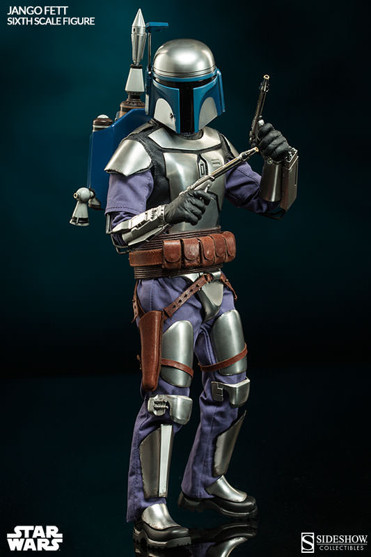 Sideshow Collectibles - Jango Fett Sixth Scale Figure Jangof20