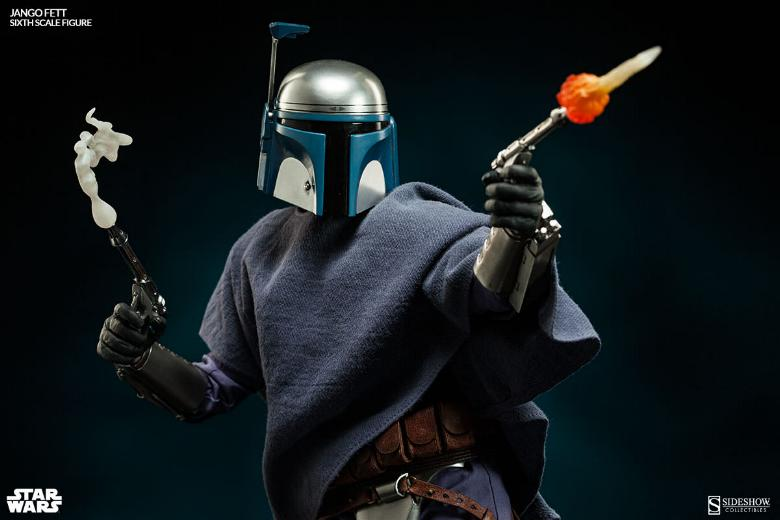 Sideshow Collectibles - Jango Fett Sixth Scale Figure Jangof21