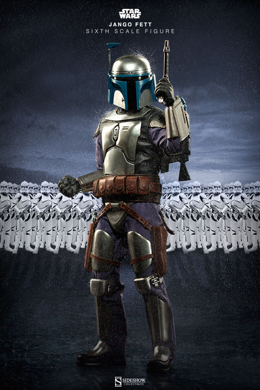 Sideshow Collectibles - Jango Fett Sixth Scale Figure Jangof22