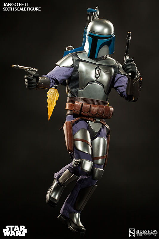 Sideshow Collectibles - Jango Fett Sixth Scale Figure Jangof23
