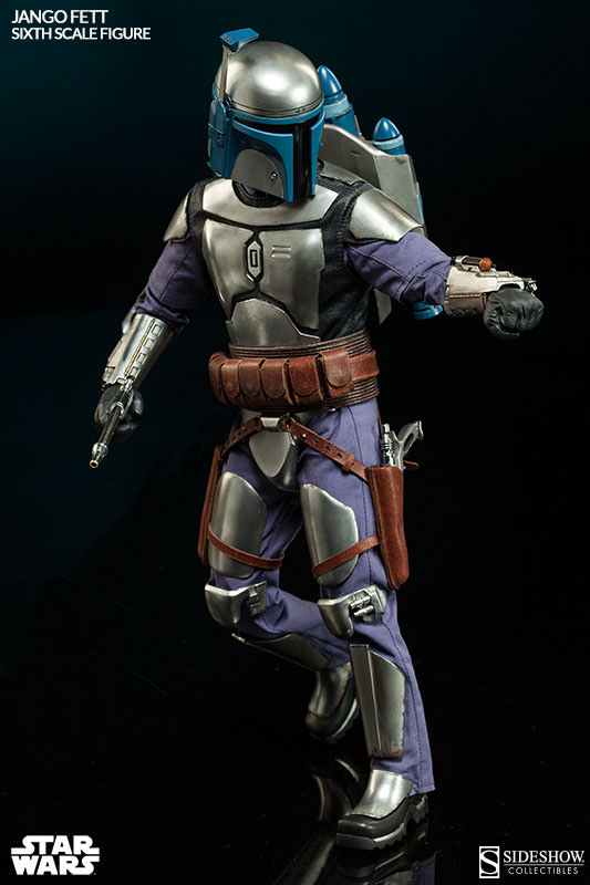 Sideshow Collectibles - Jango Fett Sixth Scale Figure Jangof25