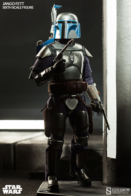 Sideshow Collectibles - Jango Fett Sixth Scale Figure Jangof26