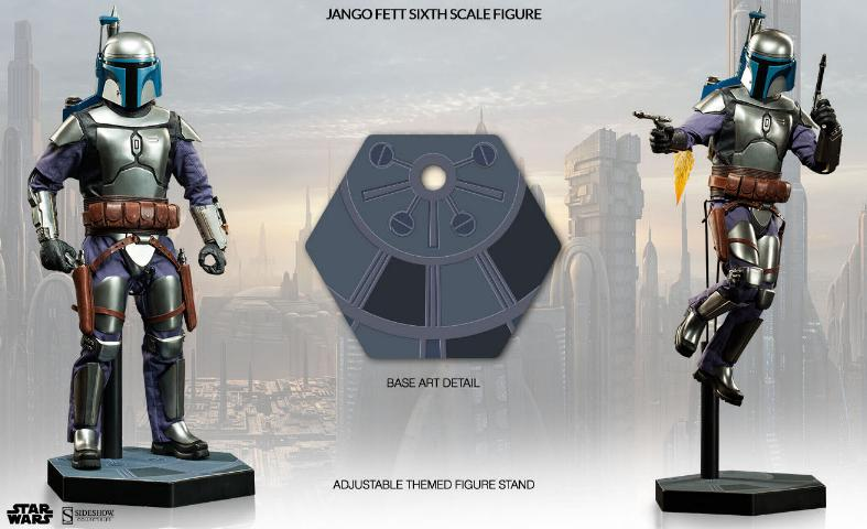 Sideshow Collectibles - Jango Fett Sixth Scale Figure Jangof27