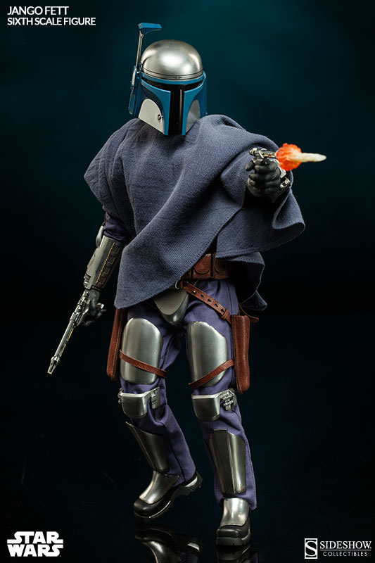 Sideshow Collectibles - Jango Fett Sixth Scale Figure Jangof28
