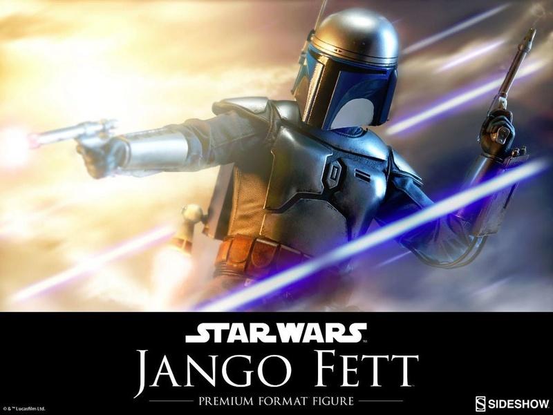 Sideshow Collectibles - Jango Fett Premium Format Figure Jangop10