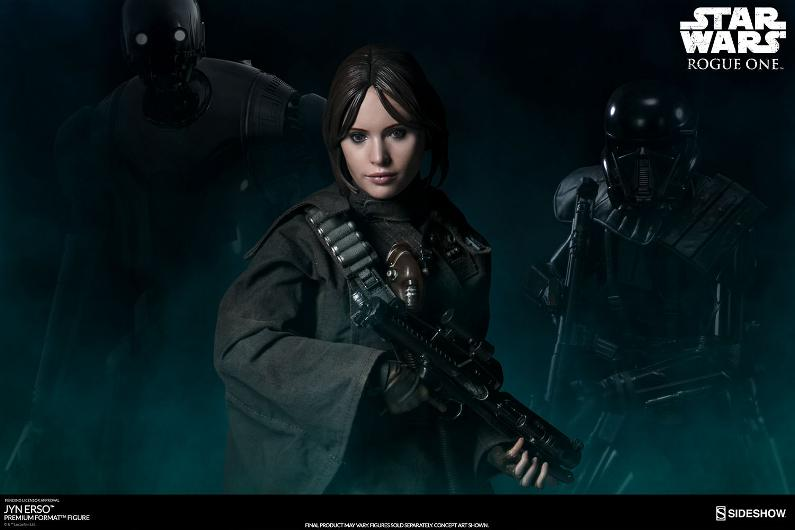 Sideshow Collectibles - Jyn Erso Premium Format Figure Jinpf_32