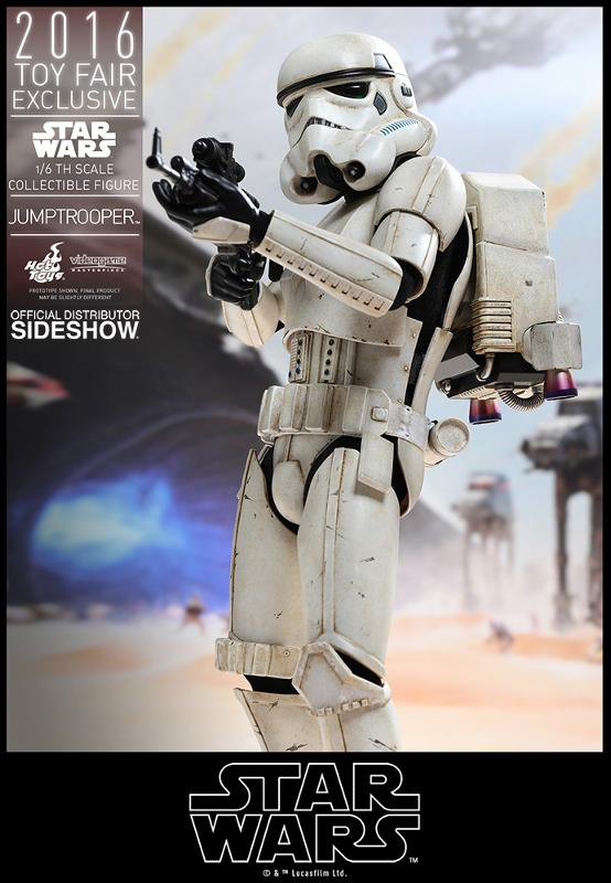 Hot Toys Star Wars Jumptrooper Sixth Scale Figure Jumptr16
