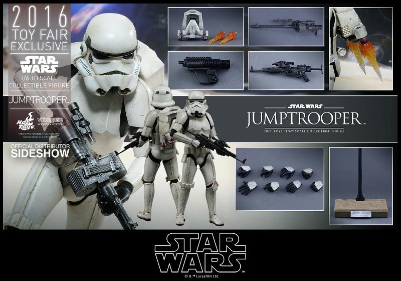 Hot Toys Star Wars Jumptrooper Sixth Scale Figure Jumptr22