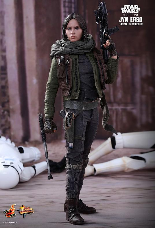 Hot Toys Jyn Erso Standard And Deluxe Version 6th Scale Fig. Jyn_0210