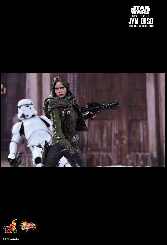 Hot Toys Jyn Erso Standard And Deluxe Version 6th Scale Fig. Jyn_0310