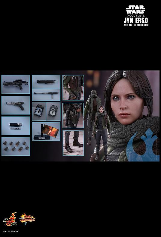 Hot Toys Jyn Erso Standard And Deluxe Version 6th Scale Fig. Jyn_1010
