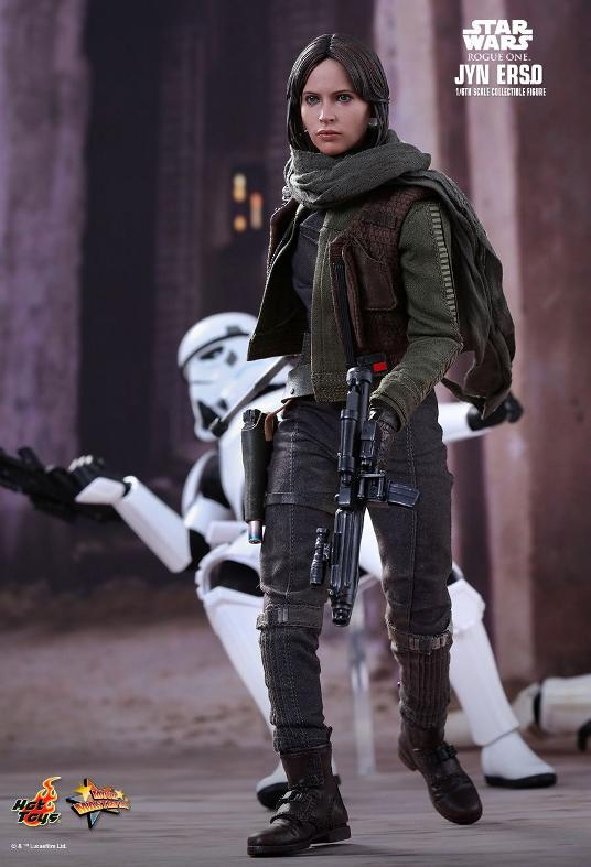 Hot Toys Jyn Erso Standard And Deluxe Version 6th Scale Fig. Jyn_1110