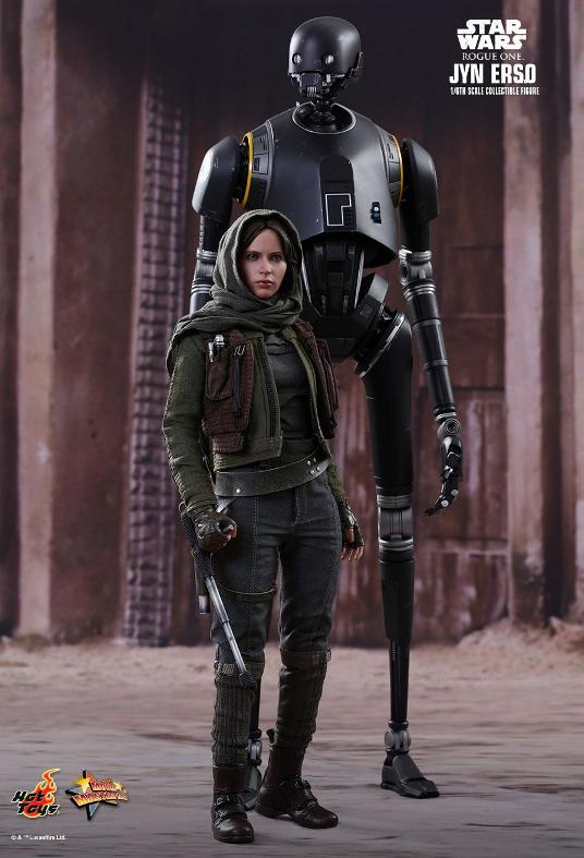 Hot Toys Jyn Erso Standard And Deluxe Version 6th Scale Fig. Jyn_1710