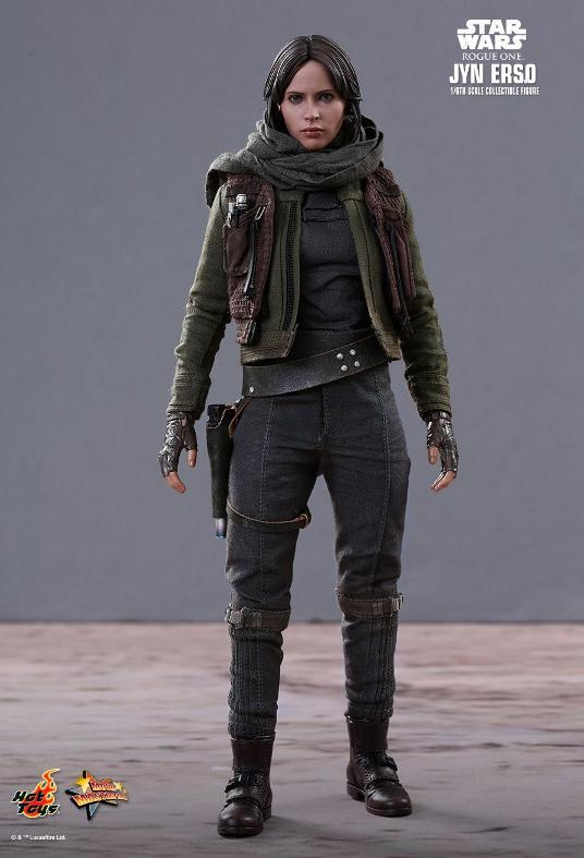 Hot Toys Jyn Erso Standard And Deluxe Version 6th Scale Fig. Jyn_6_10