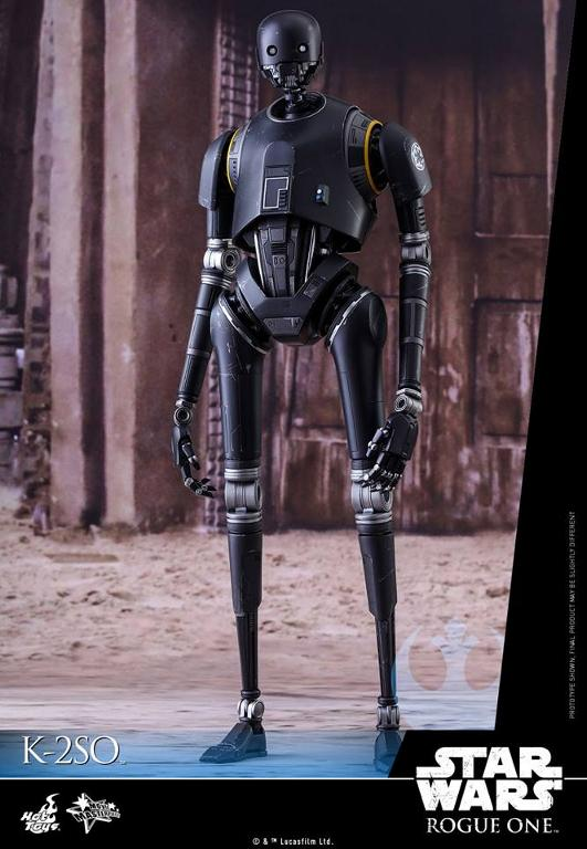 Hot Toys Star Wars Rogue One : 1/6th scale K-2SO Figure K-2so_10