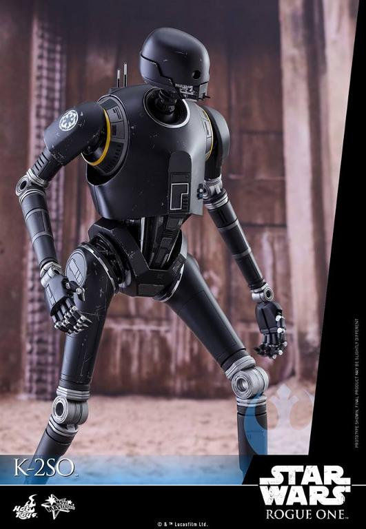 Hot Toys Star Wars Rogue One : 1/6th scale K-2SO Figure K-2so_11