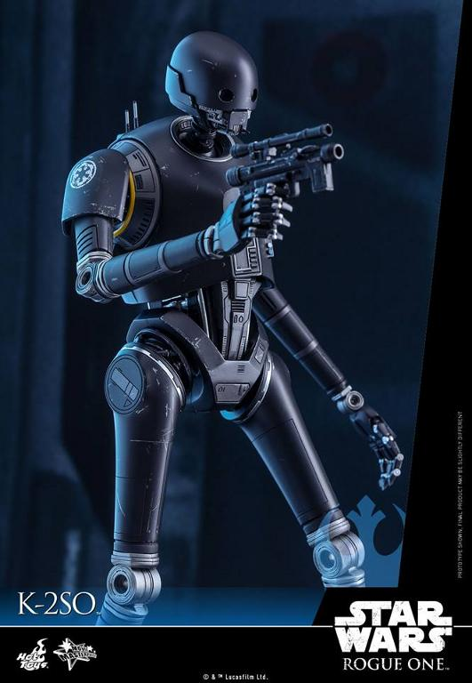 Hot Toys Star Wars Rogue One : 1/6th scale K-2SO Figure K-2so_12