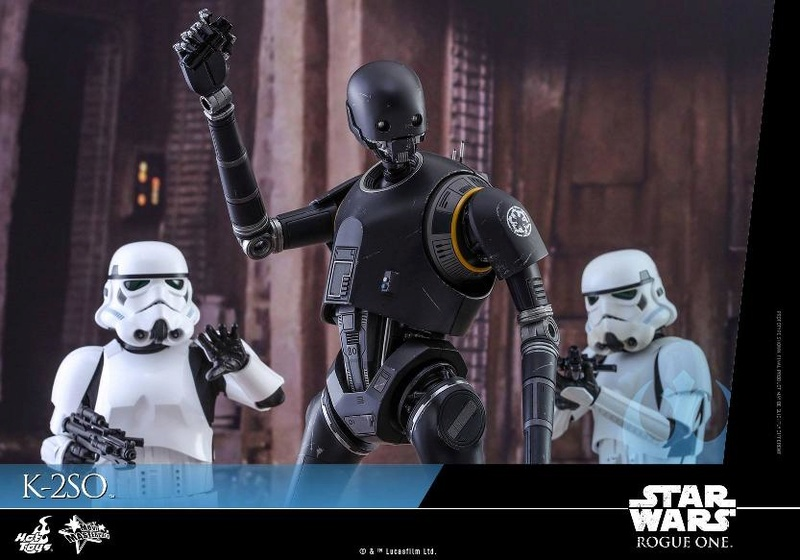 Hot Toys Star Wars Rogue One : 1/6th scale K-2SO Figure K-2so_13