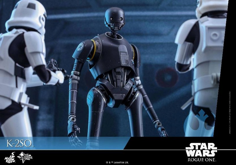 Hot Toys Star Wars Rogue One : 1/6th scale K-2SO Figure K-2so_14