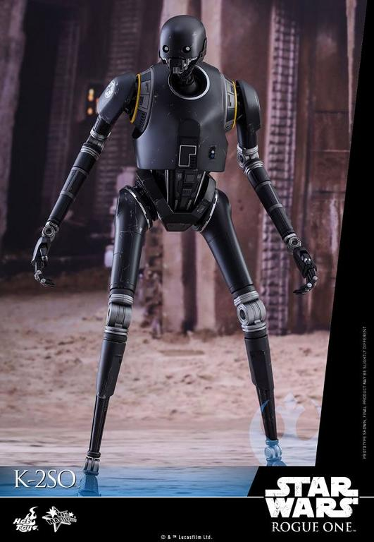 Hot Toys Star Wars Rogue One : 1/6th scale K-2SO Figure K-2so_15