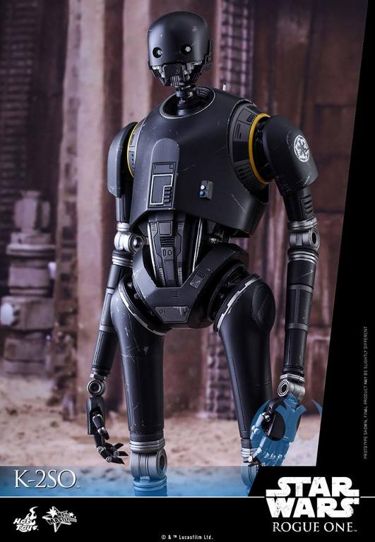 Hot Toys Star Wars Rogue One : 1/6th scale K-2SO Figure K-2so_16