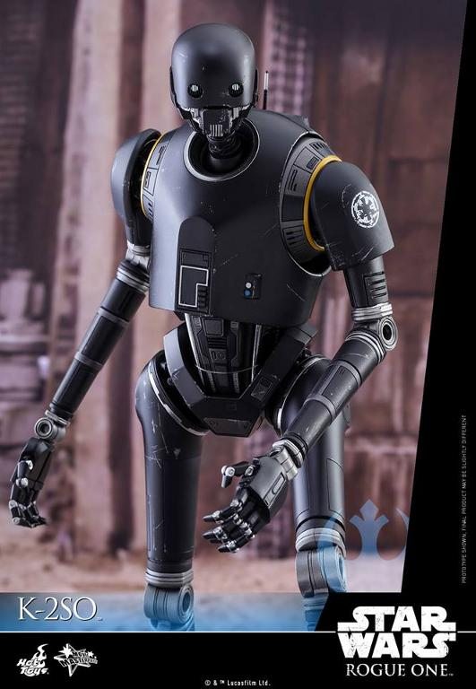 Hot Toys Star Wars Rogue One : 1/6th scale K-2SO Figure K-2so_17
