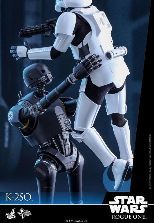 Hot Toys Star Wars Rogue One : 1/6th scale K-2SO Figure K-2so_18