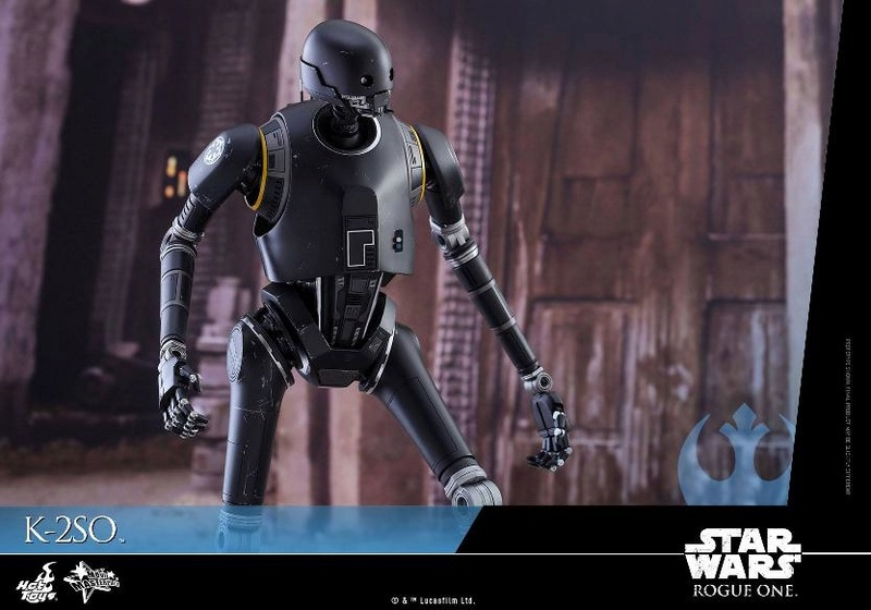 Hot Toys Star Wars Rogue One : 1/6th scale K-2SO Figure K-2so_19