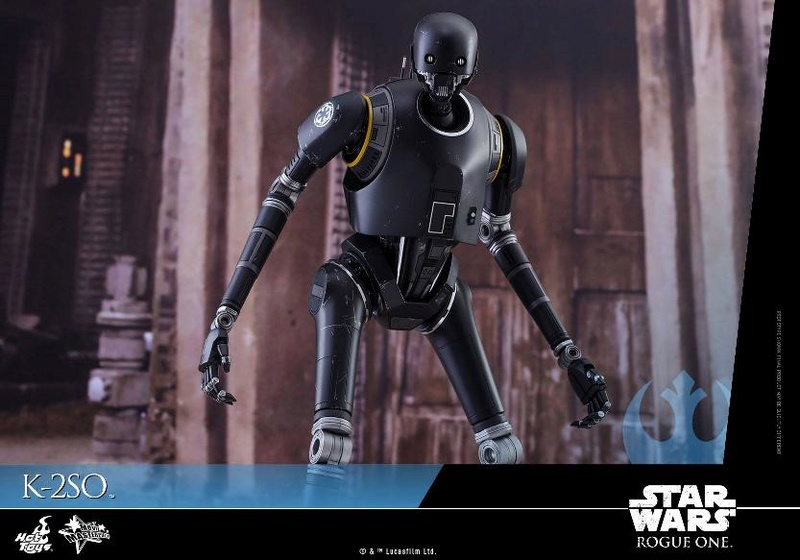 Hot Toys Star Wars Rogue One : 1/6th scale K-2SO Figure K-2so_20