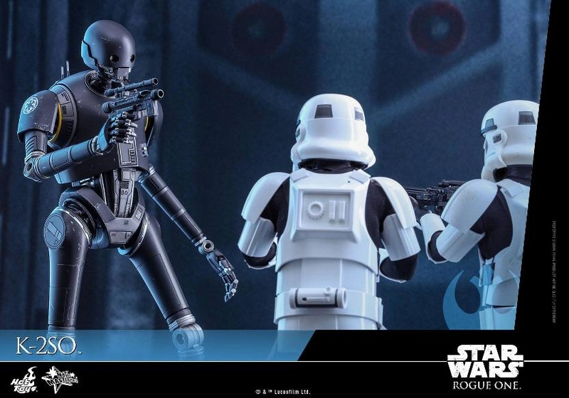Hot Toys Star Wars Rogue One : 1/6th scale K-2SO Figure K-2so_21