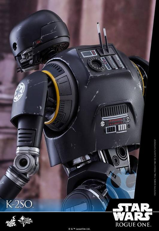 Hot Toys Star Wars Rogue One : 1/6th scale K-2SO Figure K-2so_24