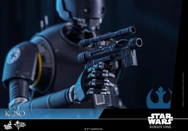 Hot Toys Star Wars Rogue One : 1/6th scale K-2SO Figure K-2so_25