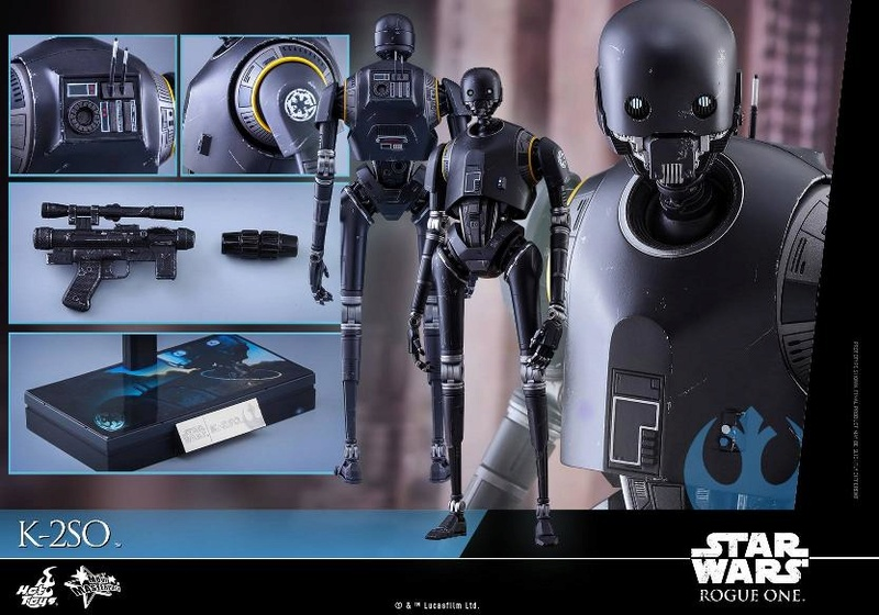 Hot Toys Star Wars Rogue One : 1/6th scale K-2SO Figure K-2so_26