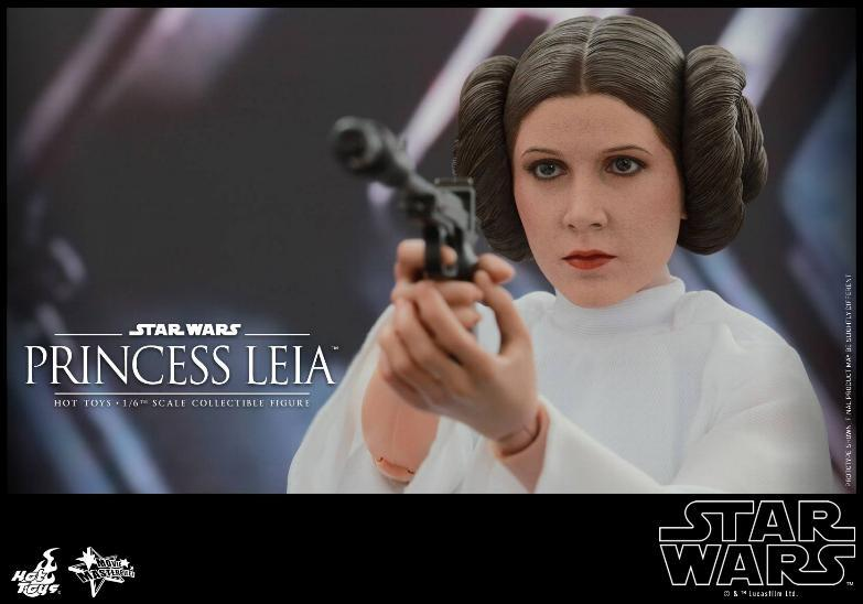 Hot Toys Star Wars 1/6 scale Princess Leia - A New Hope Leia_014