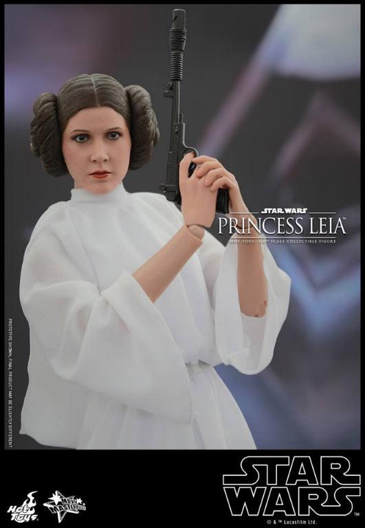 Hot Toys Star Wars 1/6 scale Princess Leia - A New Hope Leia_015