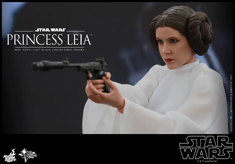 Hot Toys Star Wars 1/6 scale Princess Leia - A New Hope Leia_016