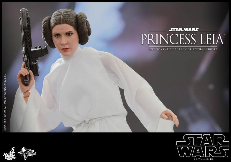 Hot Toys Star Wars 1/6 scale Princess Leia - A New Hope Leia_017