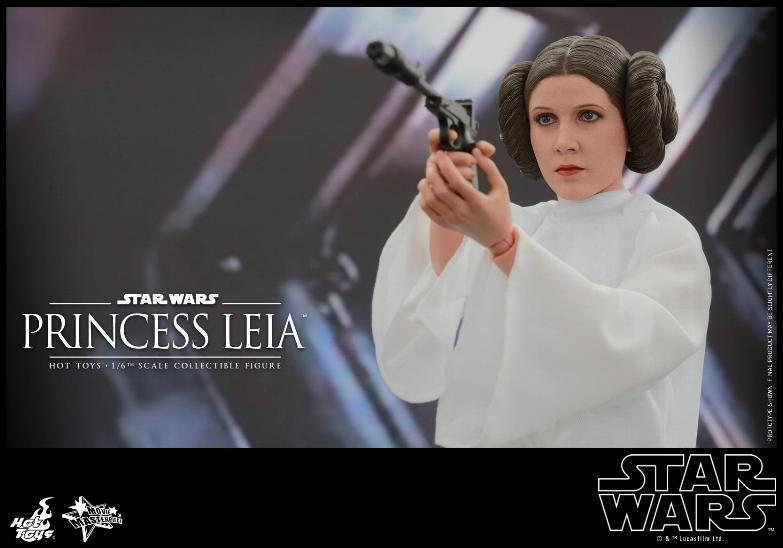 Hot Toys Star Wars 1/6 scale Princess Leia - A New Hope Leia_018